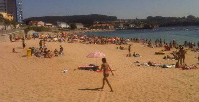 Playa Mera en Oleiros