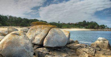 Playa Mexilloeira en O Grove