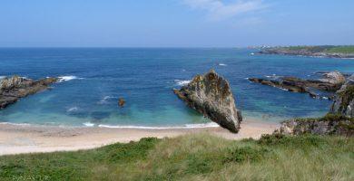 Playa Mexota en Tapia de Casariego