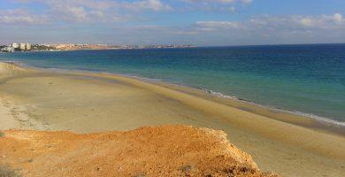 Playa Mil Palmeras en Pilar de la Horadada