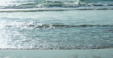Playa Mogor en Marín