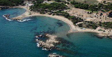 Playa Moll Grec en L'Escala