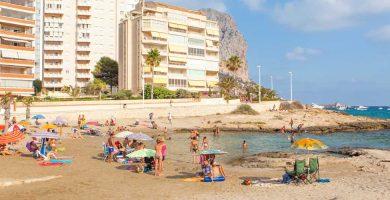 Playa Morelló en Calp