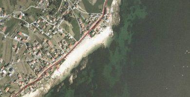Playa Mosqueiros en Ribeira