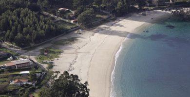 Playa Mourisca en Bueu