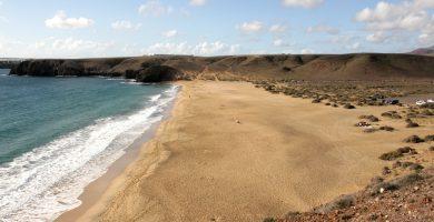 Playa Mujeres en Yaiza