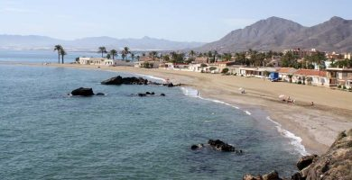 Playa Nares en Mazarrón