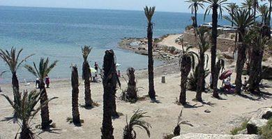 Playa Negra en Mazarrón