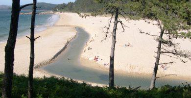 Playa Nemiña en Muxía