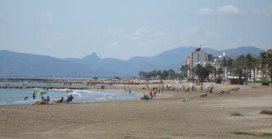 Playa Nord de Torreblanca en Torreblanca