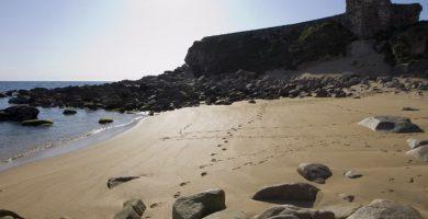 Playa Nosa Señora en Vigo
