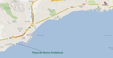 Playa Nueva Andalucía en Marbella