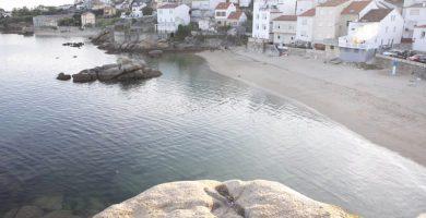 Playa O Baluarte en Ribeira