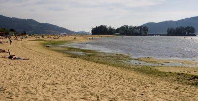 Playa O Cabo en Pontevedra