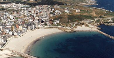 Playa O Cantiño en Burela