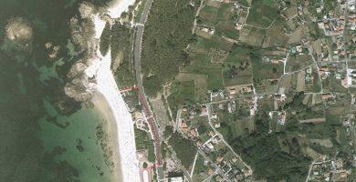 Playa O Cocho das Dornas en Vigo