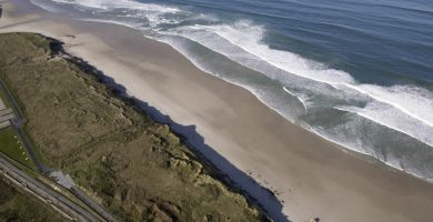 Playa O Coto en Muxía