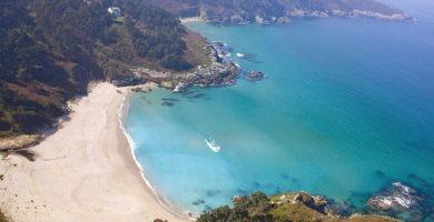 Playa O Lodeiro en Cabana de Bergantiños