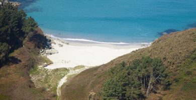 Playa O Morro en Ponteceso
