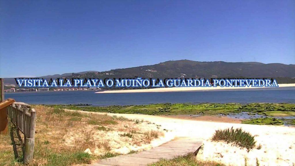 Playa O Muiño en A Guarda