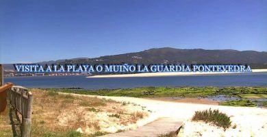 Playa O Muiño en A Guarda