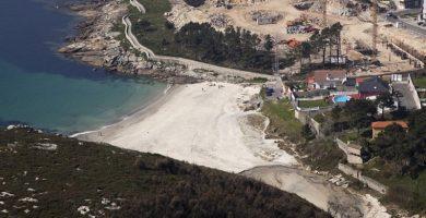 Playa O Osmo en Ponteceso