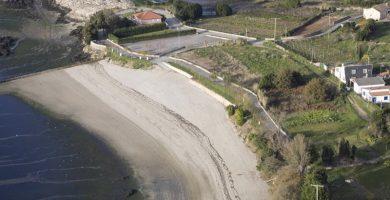 Playa O Pazo en Rianxo