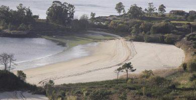 Playa O Porrón en Rianxo