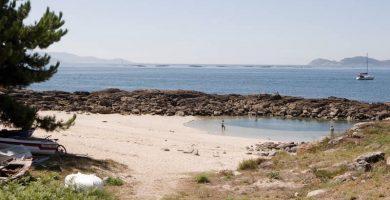 Playa O Porto en Ferrol