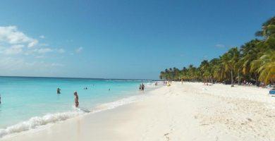 Playa O Santo en Marín