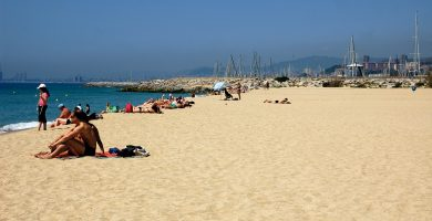 Playa Ocata en El Masnou