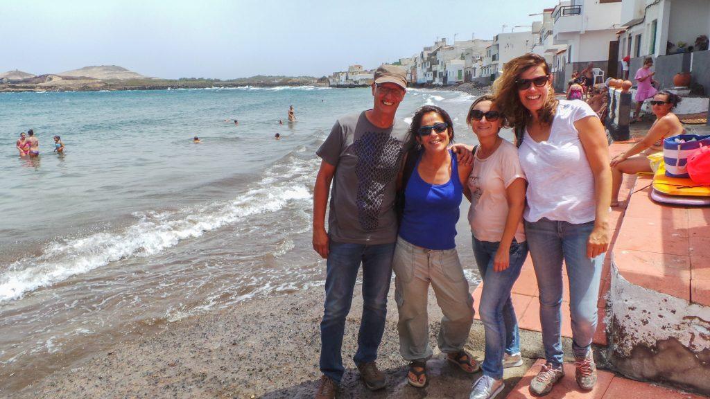 Playa Ojos de Garza en Telde