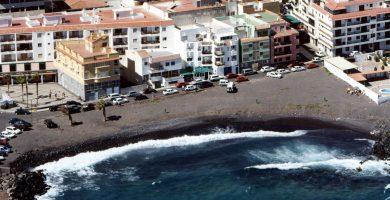 Playa Olegario en Candelaria