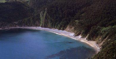 Playa Oleiros en Cudillero