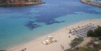 Playa Oratori de Portals en Calvià