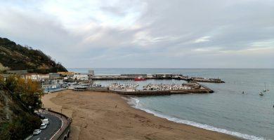 Playa Orruaga en Getaria