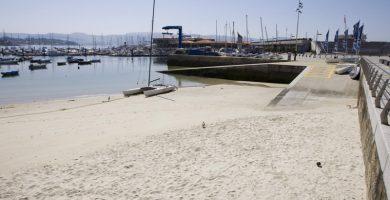 Playa Os Barcos en Sanxenxo