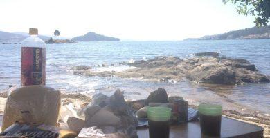 Playa Ostreira en Poio