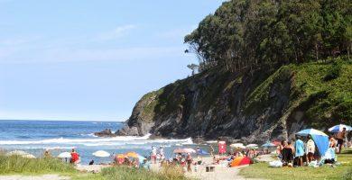 Playa Otur en Valdés