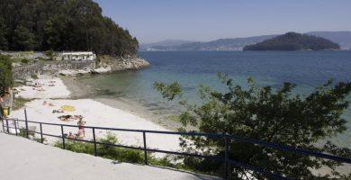 Playa Ouriceira en Poio