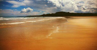 Playa Oyambre en Valdáliga