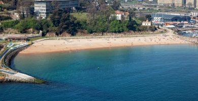 Playa Oza en A Coruña