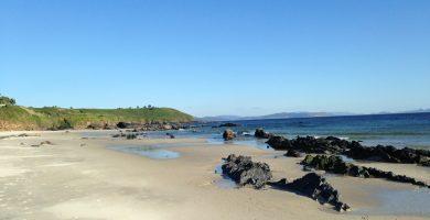 Playa Pampaído en Sanxenxo