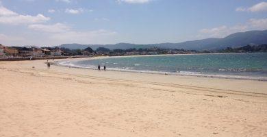 Playa Panxón en Nigrán
