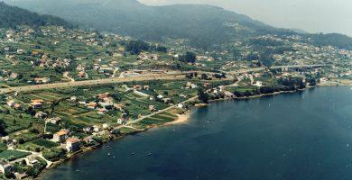Playa Pazos en Vilaboa