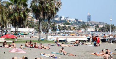 Playa Pedregalejo en Málaga