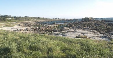 Playa Pedrullo en Carnota