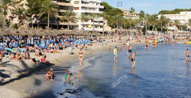 Playa Peguera en Calvià