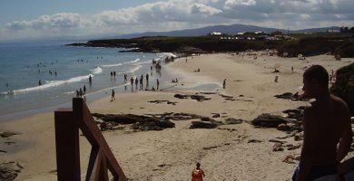 Playa Peizás en Foz