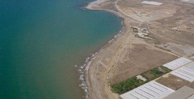 Playa Peña del Moro en El Ejido